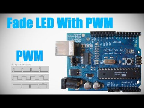 Programming Arduino - Lesson 3 - LED Fade - PWM - YouTube