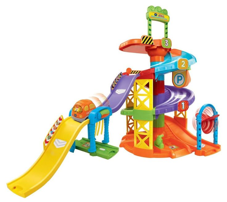 VTech Go! Go! Smart Wheels Spinning Spiral Tower Playset FUN Pretend Play NEW  #VTech