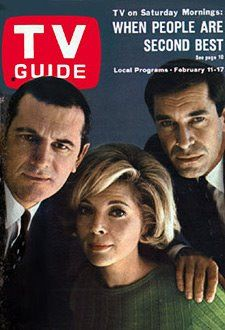 Mission Impossible cast, Steven Hill, Barbara Bain, Martin Landau; season one, 1966-67