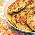 Galettes aux lentilles corail et à la courgette – Pour ceux qui aiment cuisiner !
