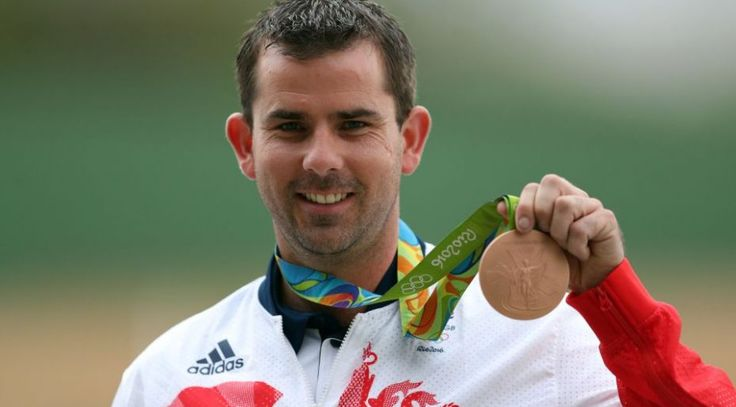 Ed Ling Win Bronze in Rio 2016 Men's Trap