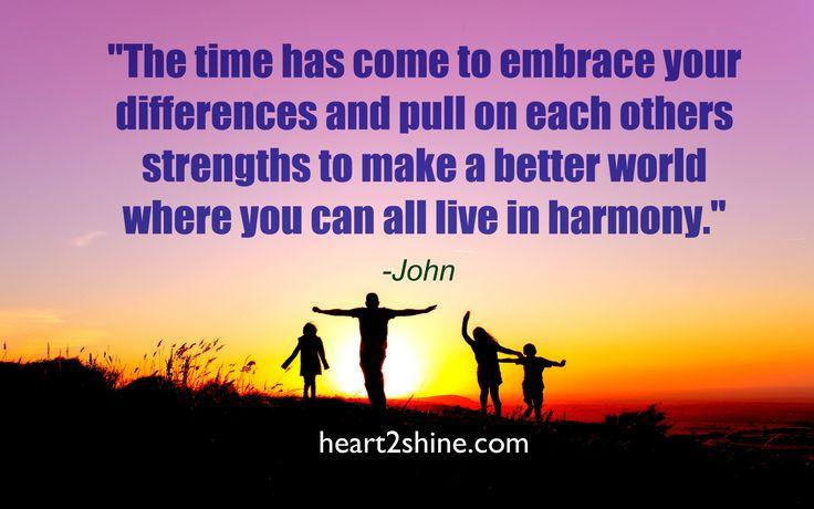 Freedom, Peace & Money- The Time Has Come. Spiritual Guidance from John. heart2shine.com
