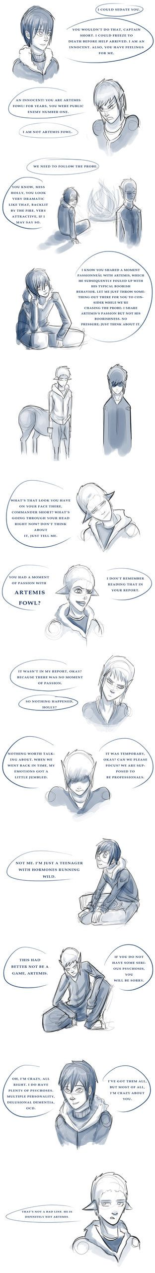 Artemis Fowl Ii By Eevauchiha7 Not Exactly A Sketchdump, But Hey  Obnoxious Teenager Artemis Is Amazing This All