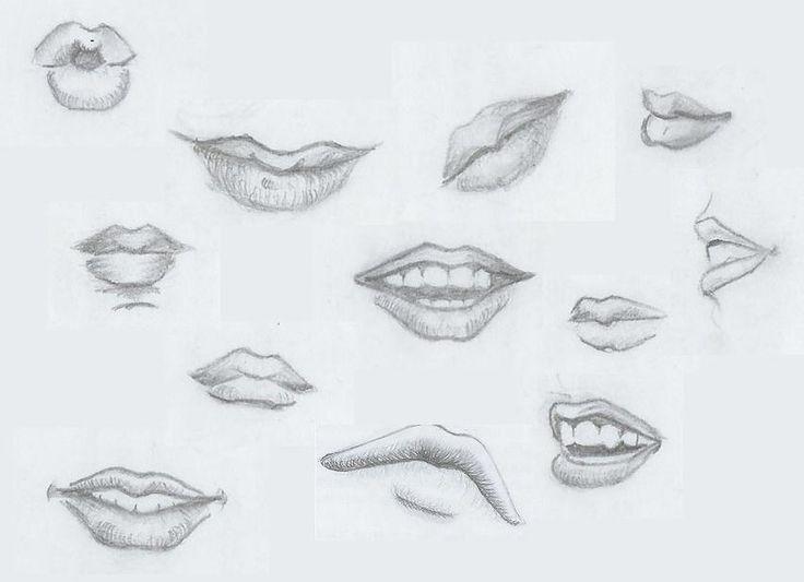photo apprendre a dessiner bouche