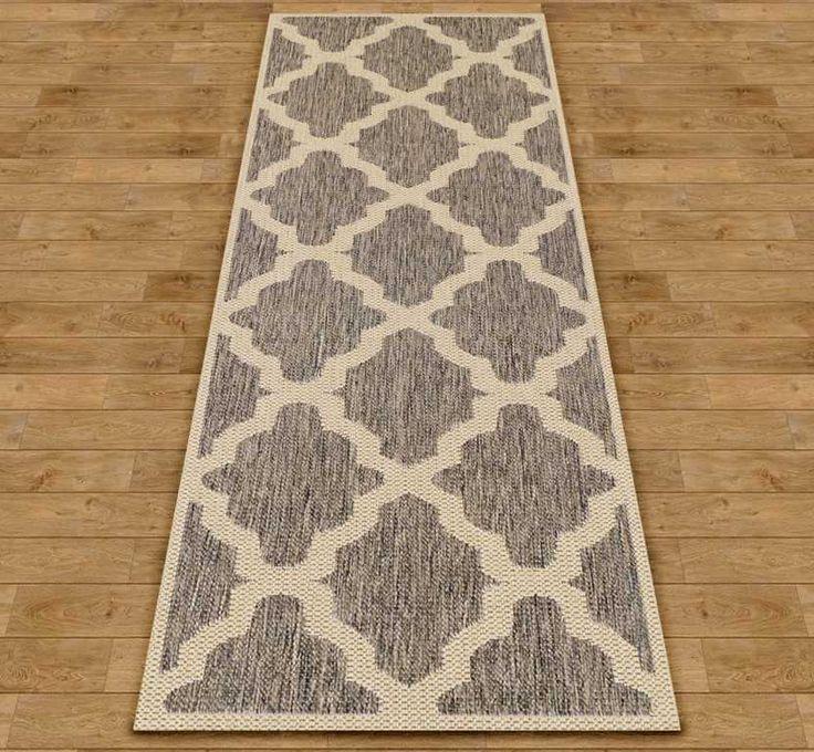 Trellis - Grey Hall Runner Rugs | Modern Rugs