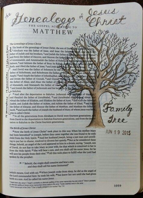 Matthew 1 by Paula-Kay Bourland