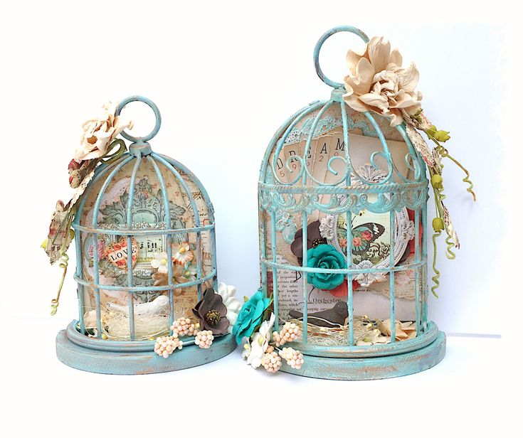 Vintage Bird Cages - Scrapbook.com