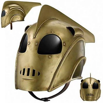 Lusty Lids: The Top 50 Coolest Motorcycle Helmets - I didn't know I needed a Rocketeer helmet until right now.