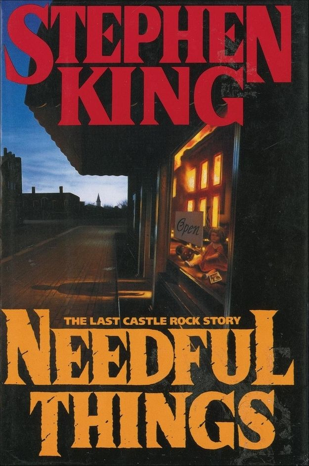 *Needful Things | 11 Essential Stephen King Books. I loved this one, but of course I did, it's Stephen King!