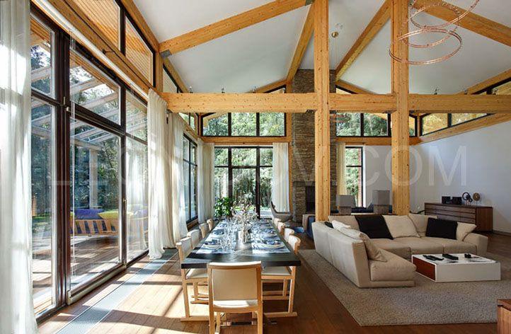 проект современного загородного дома