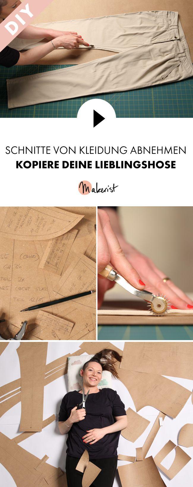 Die perfekt sitzende Hose einfach nachnähen - Step by Step erklärt im Video-Kurs via Makerist.de