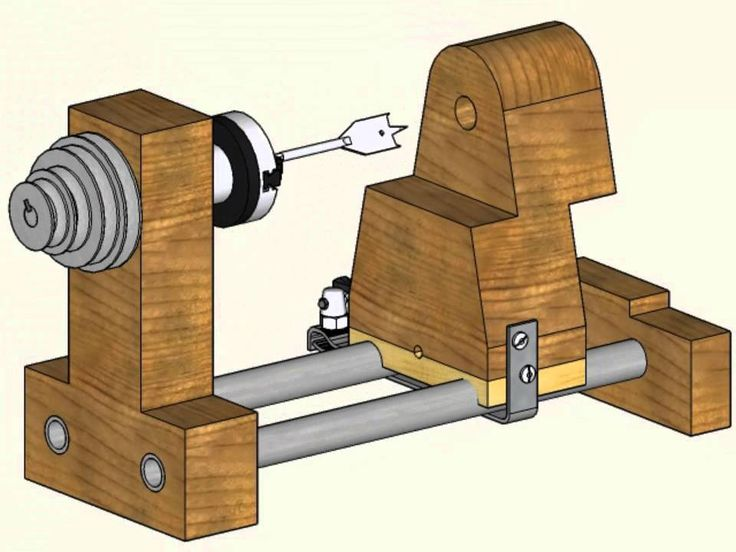 Build a Lathe out of Bicycle Parts and Other Junk 2 of 2
