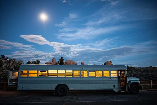 An Architecture Student Got Sick Of Normal Projects. So He Bought A Bus… And You Gotta See It Now