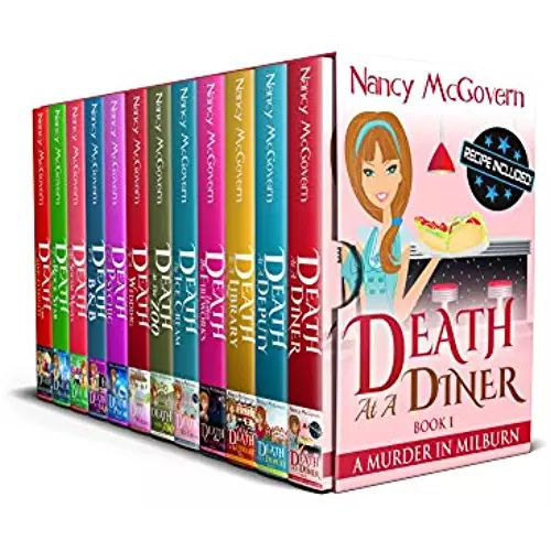 A Murder In Milburn The Complete Series 12 Book Box Set With Delicious Recipes