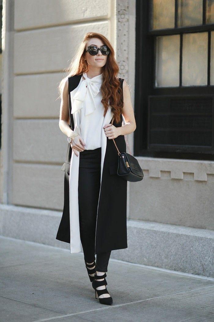 Superbe manteau fourrure sans manche