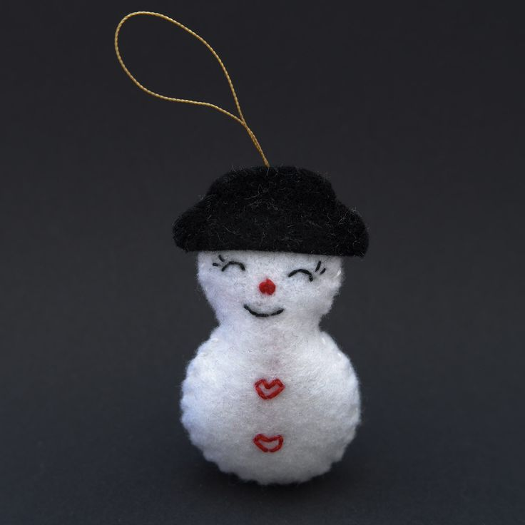 Snowman in love  - snowman, christmas decor, christmas gift, christmas decoration, cute, adorable. by HalloweenOrChristmas on Etsy