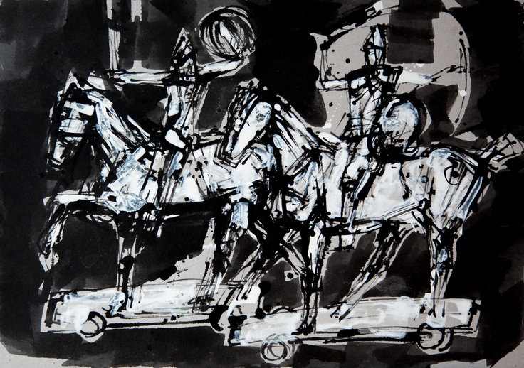 Bogusław Lustyk 'Horses'