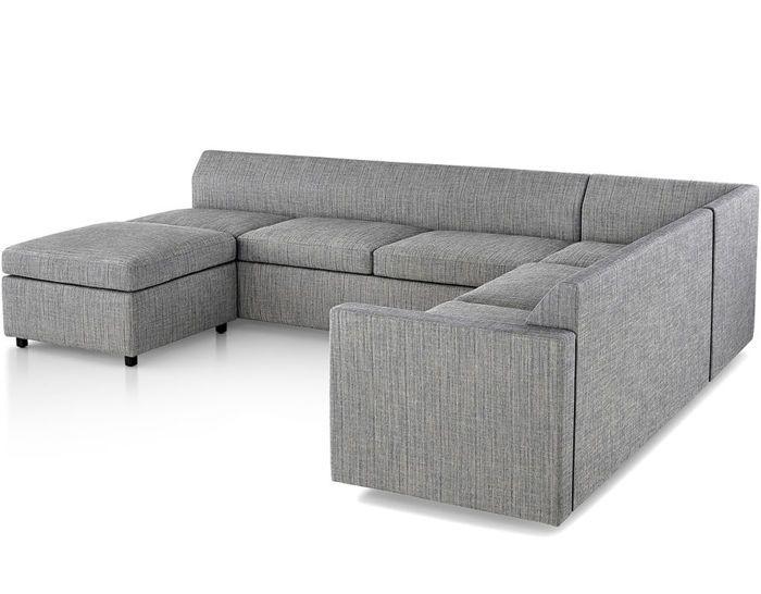 Bevel Sectional Sofa by BassamFellows for Herman Miller
