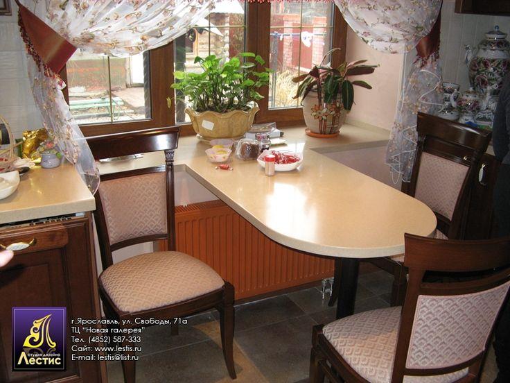 стол подоконник кухня - Поиск в Google