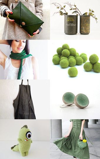 Green Me by enhar on Etsy--Pinned with TreasuryPin.com