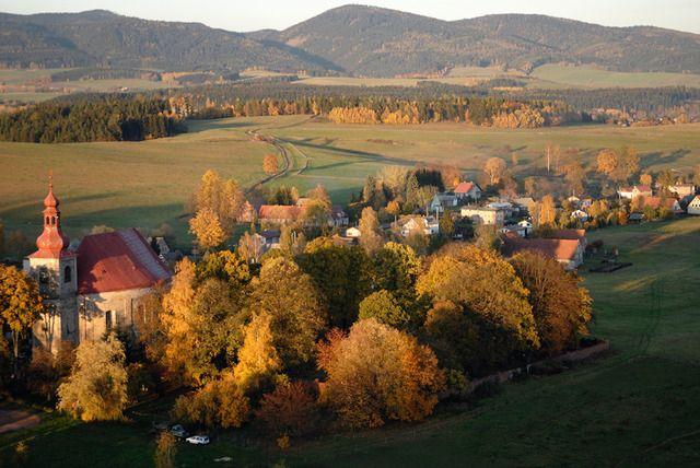 Kostel sv. Michaela, Vernéřovice; broumovská skupina kostelů