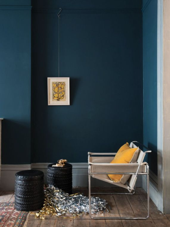 vkvvisuals.com/blog | COLOR OF THE MONTH STIFFKEY BLUE | http://blog.vkvvisuals.com