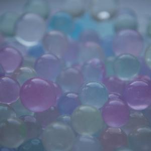 Vandperler, alle farver, metal skær, 10G, 15,-