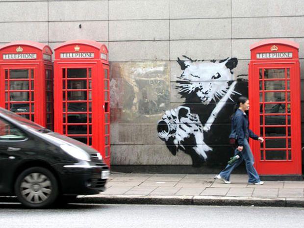 Ritz Rat - The Art Of Banksy - Pictures - CBS News