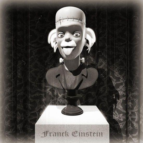 Franck Einstein by Adam