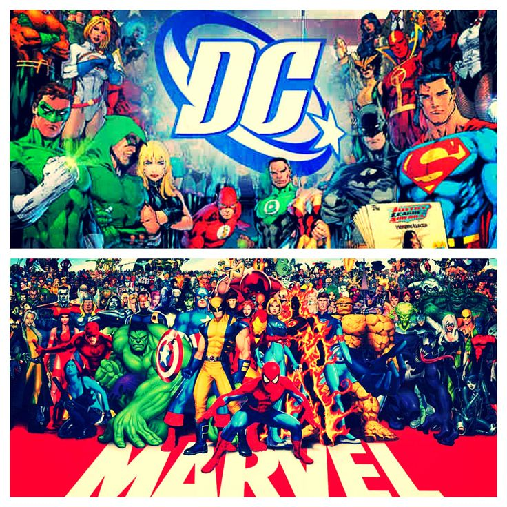 DC vs. Marvel ❤