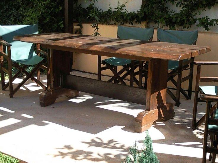 Extraordinary garden table handmade by shipo by geo vele