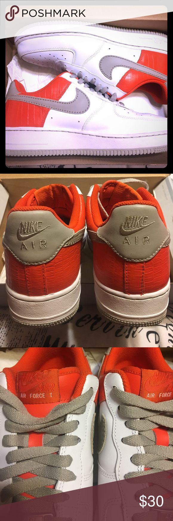 Woman's Air Force 1 Like new Nike Air Force 1 , size 10 worn once Nike Shoes Sneakers