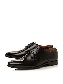 PS London Moore plain toe gibson shoes