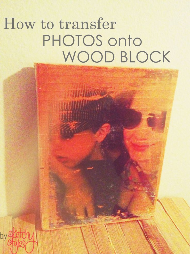 19 best wood block transfer images on pinterest wood for How do i transfer a picture onto wood