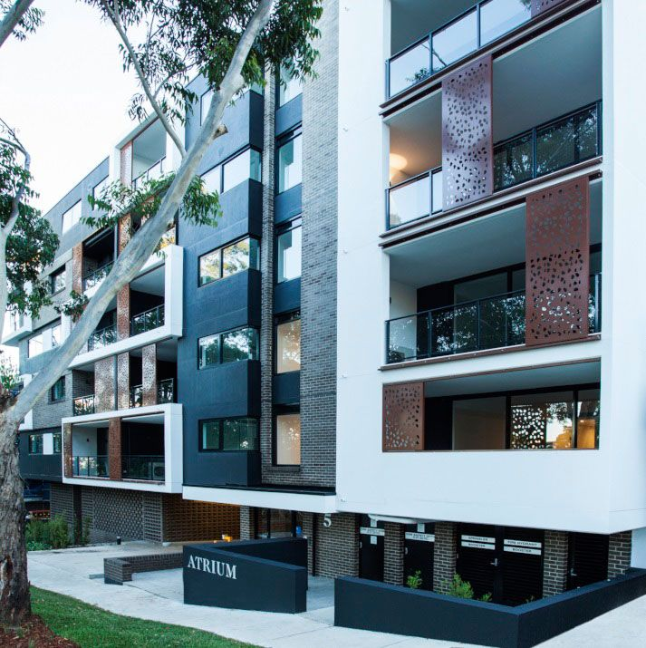 Infinity Apartments: Ritek Wall Systems Images On