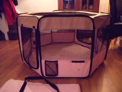DIY Rabbit Hutch | ... Indoor Rabbit Cage Guinea Dog Cat Pet Play Pen Run Hutch Home | eBay   This would be a GREAT way to possibly travel with bunny
