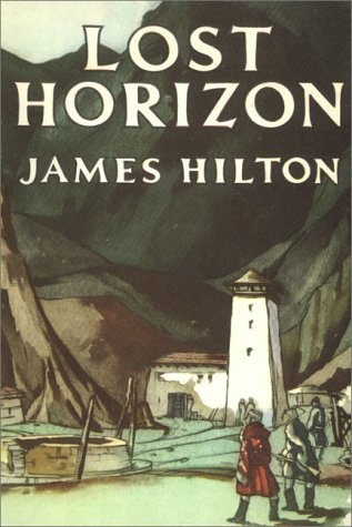 Lost Horizon. Love the cover art.  This was the first soft cover ever published.