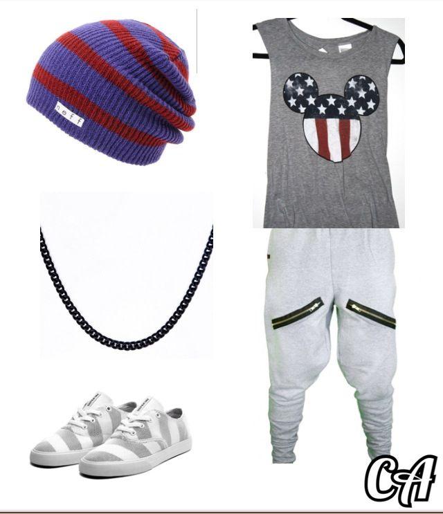 Hip hop outfit
