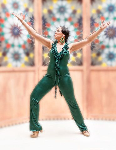 Dark Green Jumpsuit - Rosalía Zahíno http://rosalia-zahino.myshopify.com/products/dark-green-jumpsuit
