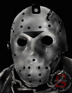 Happy Friday the 13th! Here is Kane Hodder as Jason Voorhees. For the fullsize image or to buy prints be sure to visit my site www.scottra.com