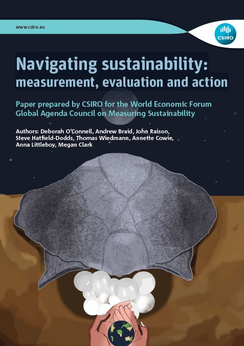 The CSIRO report, 'Navigating sustainability: measurement, evaluation and action' provides an authoritative guide to decision makers on what to measure to better comprehend sustainability resource productivity and calls for more robust and operational approaches to addressing the challenges of climate change.