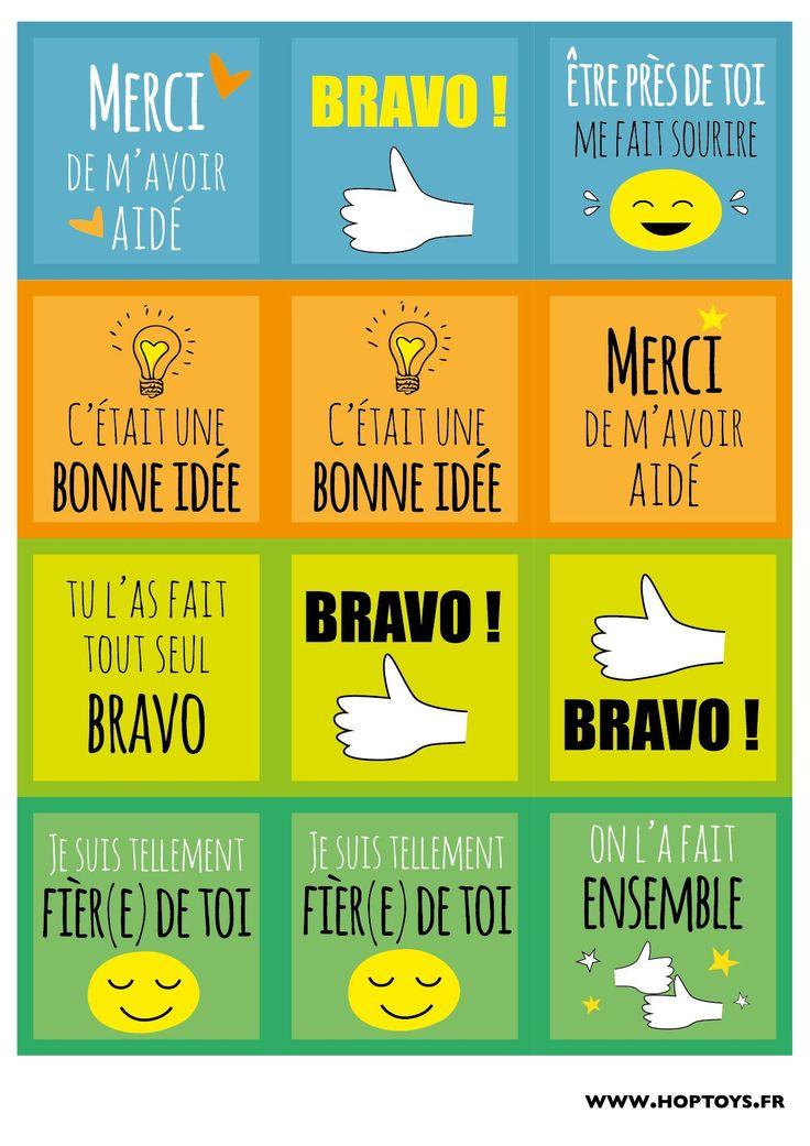 Le 1er mars c'est la journée mondiale des compliments et chez Hop'Toys on adore ces journées positives !  Alors pour cette occasion, nous vous avons concocté des cartes de compliments à donner autour de vous lors de cette journée ou à utiliser pour motiver vos loulous ! Rien de tel que des compliments pour …