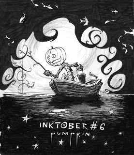 Pumpkin by LePueblo inktober2015 drawlloween