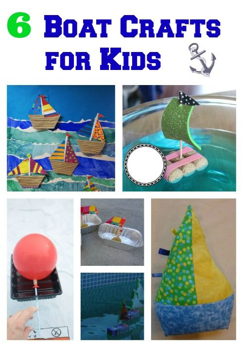 6 Fun Boat Crafts for Kids