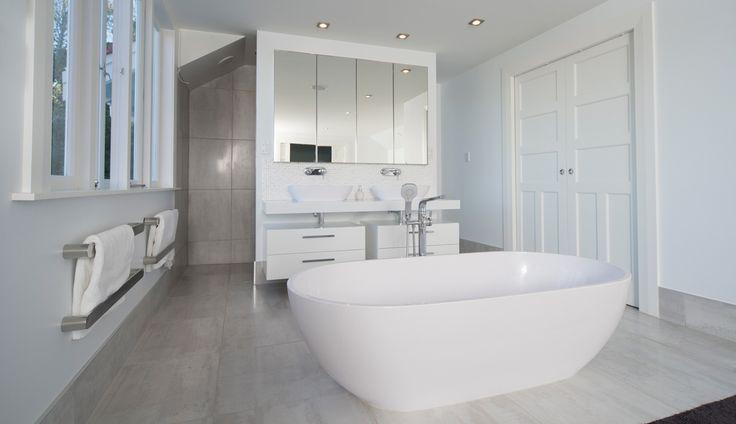 Fairview Road Renovation After Photo Master Bedroom Ensuite Bath