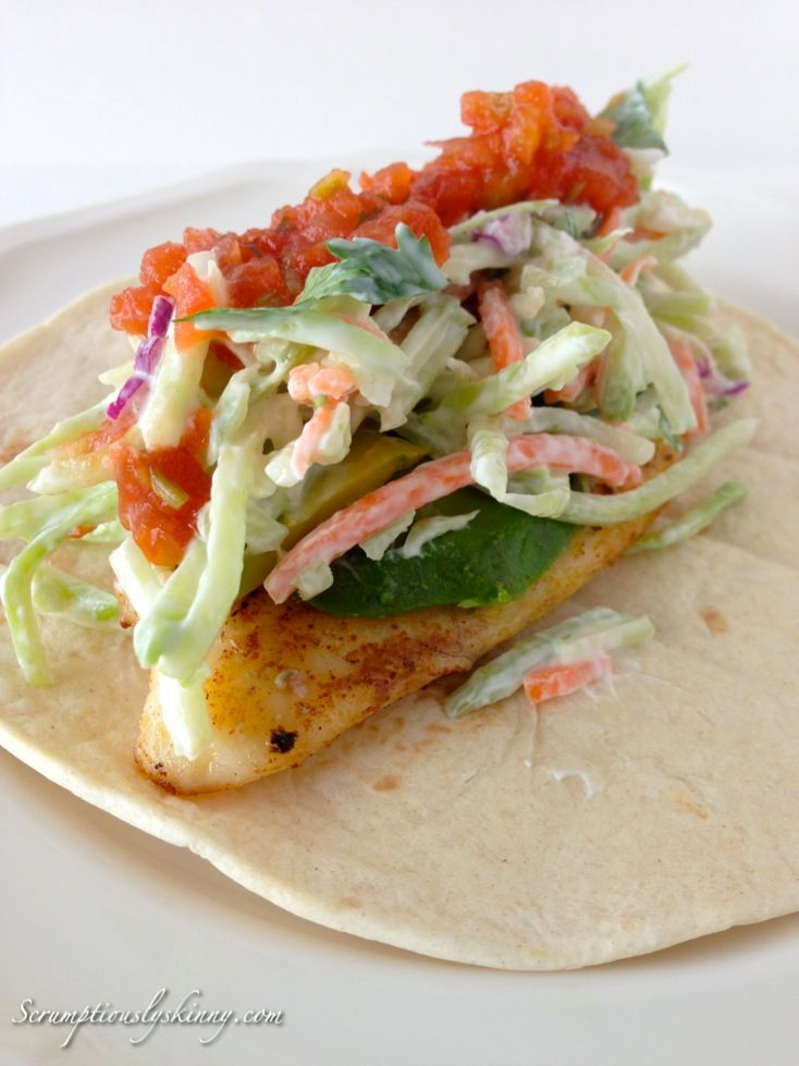 17 best images about lunch dinner on pinterest thai for Healthy fish tacos