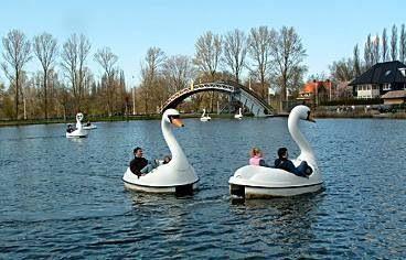 Plaswijckpark  in Rotterdam.