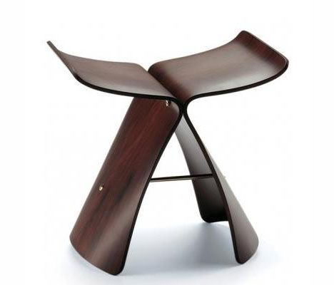 One Piece Plywood Chair. Butterfly Stool    Sori Yanagi...like Great Pictures