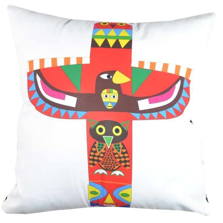 Designer decorative Folk pillow № gd383
