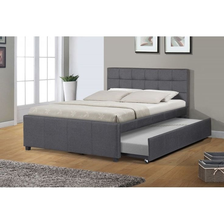 Best Quality Furniture Full Upholstered Panel Bed With 400 x 300